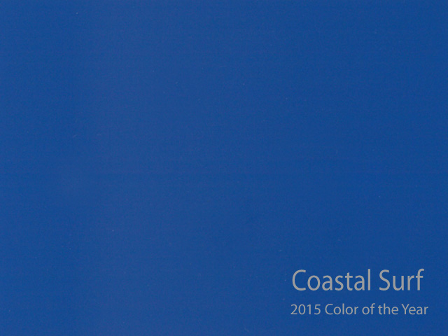 Colors of the year for 2015 visual jill Paint color of the year