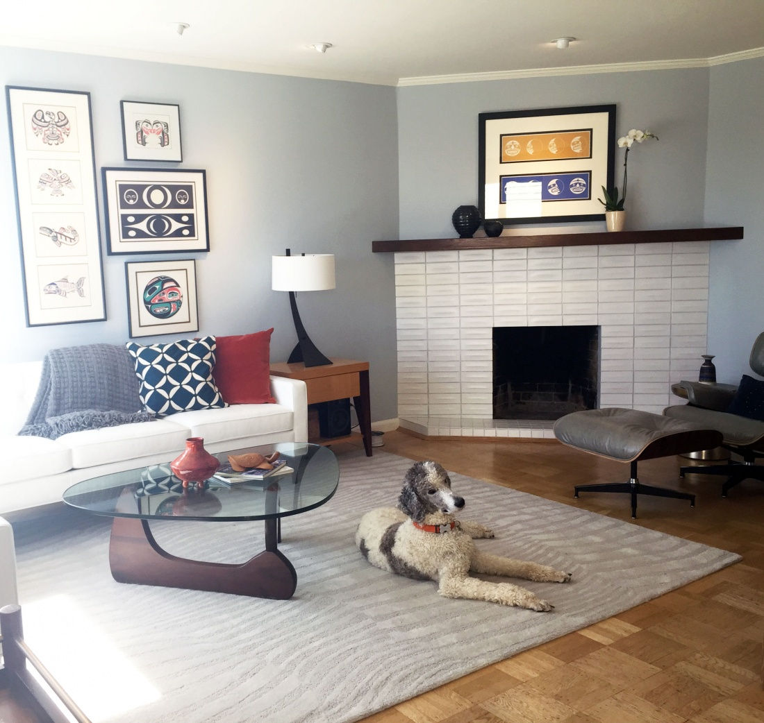 New Living Room Complete Redesign For Sf Couple Visual Jill