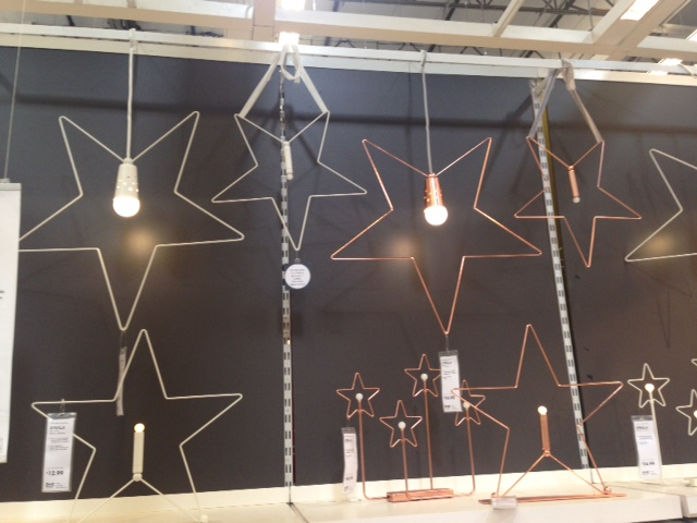 Ikea holiday stars