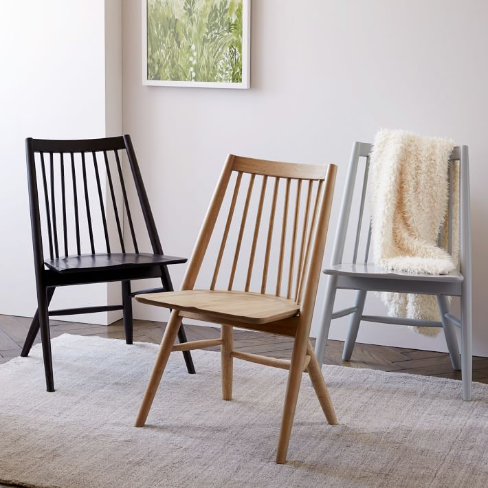 west elm spindle chair