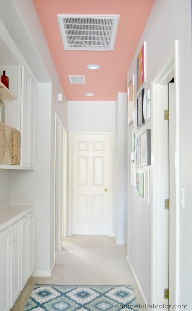 Have some fun with paint visual jill for Ceiling paint color