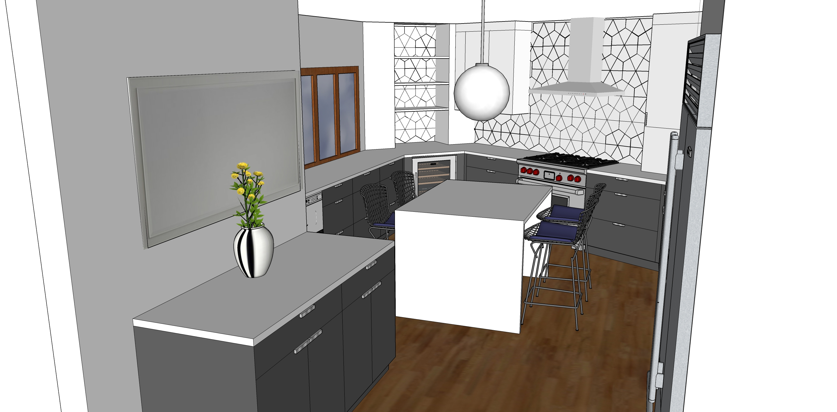 Here Are A Few Examples Of Our Kitchen 3D Design Work: